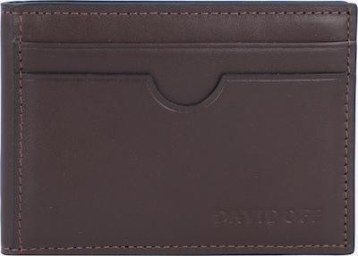 Davidoff Essentials Kreditkartenetui Leder 10 cm in braun, Produktansicht
