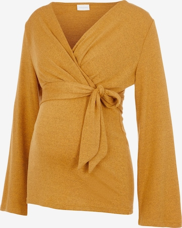 Pullover 'Nati' di MAMALICIOUS in marrone