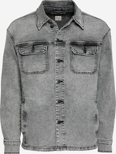 Camicia 'Aiven' tigha di colore grigio denim, Visualizzazione prodotti