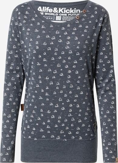 Alife and Kickin Shirt in marine / weiß, Produktansicht