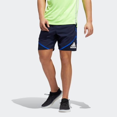 ADIDAS PERFORMANCE Shorts in dunkelblau: Frontalansicht
