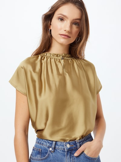 MORE & MORE Blouse 'Active' in de kleur Goud, Modelweergave