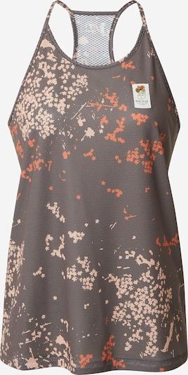 Sportiniai marškinėliai be rankovių iš Maloja , spalva - rausvai pilka / šviesiai oranžinė / rožių spalva, Prekių apžvalga