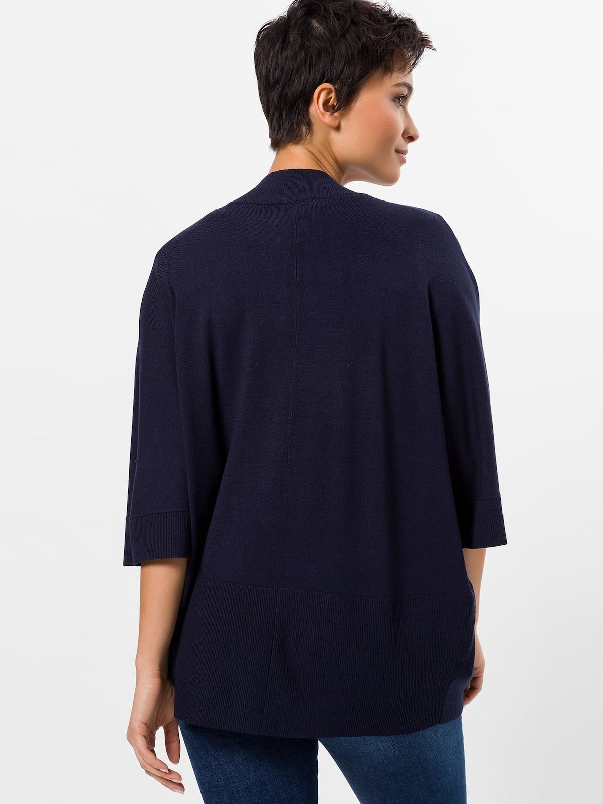 Beliebt Frauen Bekleidung zero Strickjacke in navy Zum Verkauf