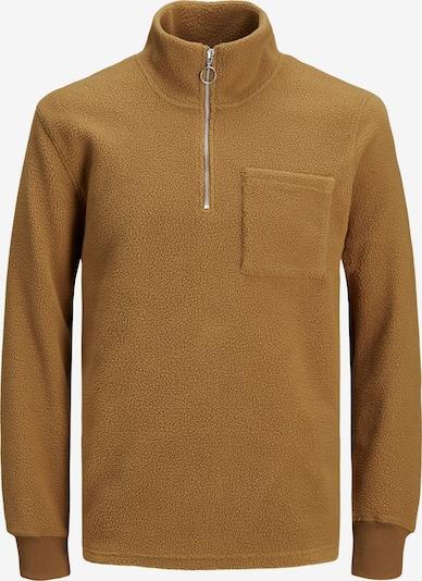 JACK & JONES Sweatshirt 'Particle' in braun, Produktansicht