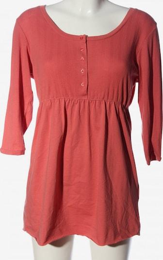Basic Line Long-Bluse in L in pink, Produktansicht