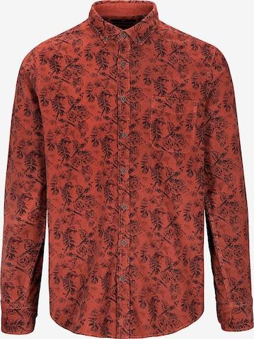 BASEFIELD Hemd in Rot