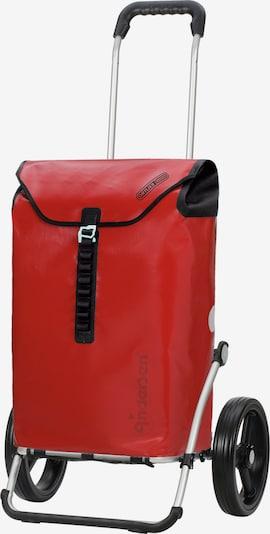 Andersen Shopper Einkaufstrolley 'Royal Ortlieb' in rot / schwarz, Produktansicht
