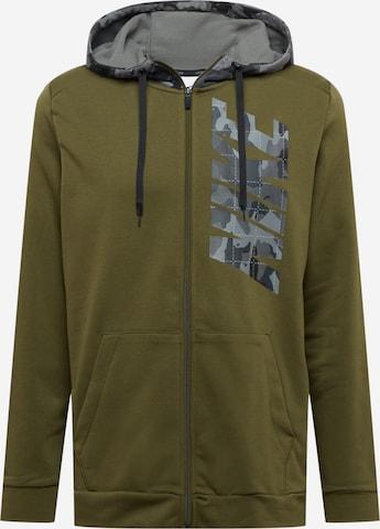 zaļš NIKE Sportiska tipa jaka