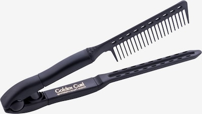 Golden Curl Comb 'Easy' in Gold / Black, Item view