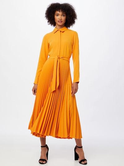 Rochie tip bluză Closet London pe portocaliu, Vizualizare model