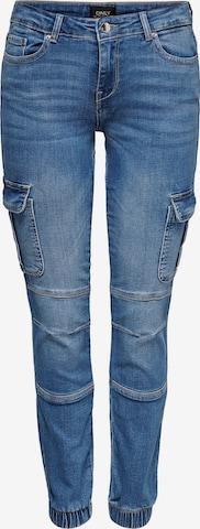 Jeans cargo 'Missouri' ONLY en bleu