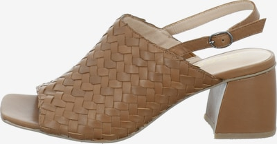 GERRY WEBER SHOES Sandale 'sabrina 05' in cappuccino, Produktansicht