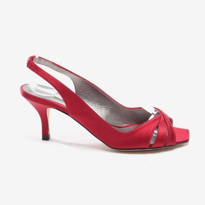 PURA LOPEZ Sandaletten in 37,5 in weinrot, Produktansicht