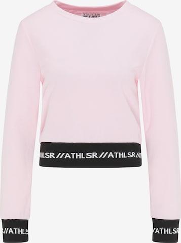 myMo ATHLSR Athletic Sweatshirt in Pink