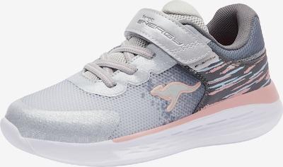 KangaROOS Sneaker in grau / rosa / silber / weiß, Produktansicht