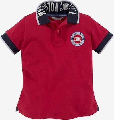 Tom Tailor Polo Team Shirt in dunkelblau / dunkelrot, Produktansicht