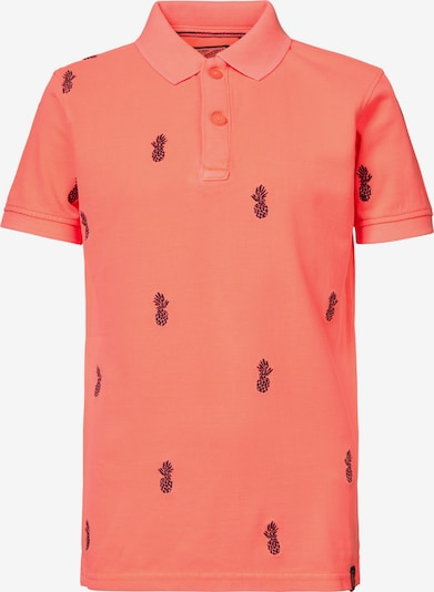 Petrol Industries Poloshirt in navy / koralle, Produktansicht