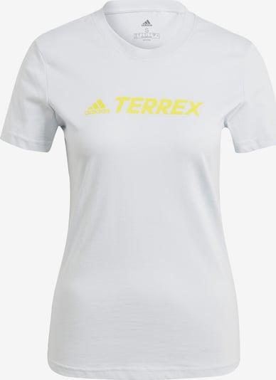 adidas Terrex Funktionsshirt in pastellblau / gelb, Produktansicht
