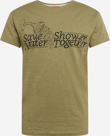 T-Shirt Derbe en vert