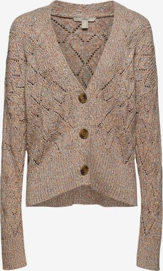 ESPRIT Jacke in beige / blau / braun / weiß, Produktansicht