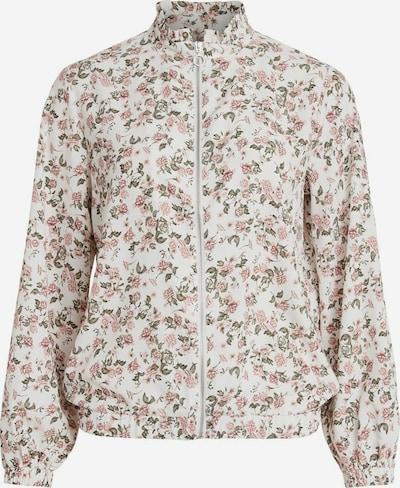 VILA Jacke in creme / rosé / weiß, Produktansicht