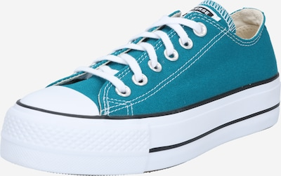 CONVERSE Sneakers laag 'Chuck Taylor All Star' in de kleur Petrol / Wit, Productweergave