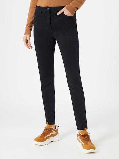 EDC BY ESPRIT Jeans in schwarz: Frontalansicht