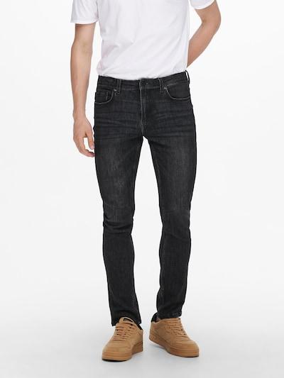 Jeans 'Loom Life' Only & Sons pe negru, Vizualizare model
