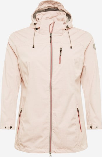 G.I.G.A. DX by killtec Between-season jacket 'Solena Stripe' in pastel pink, Item view