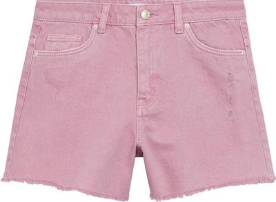 Pantaloni MANGO KIDS pe roz, Vizualizare produs
