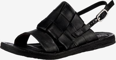 A.S.98 Ramos Klassische Sandalen in schwarz, Produktansicht