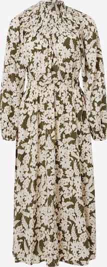 VILA Kleid 'Ivy' in khaki / weiß, Produktansicht