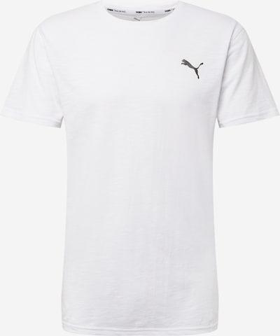 PUMA Functioneel shirt 'ENERGY' in de kleur Zwart / Wit, Productweergave