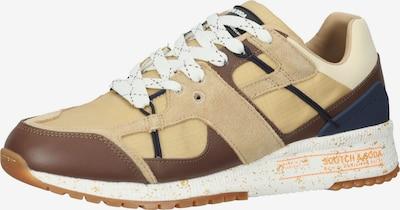 SCOTCH & SODA Sneakers in Sand / Dark brown, Item view