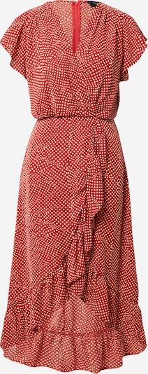 AX Paris Robe en rouge rouille / blanc, Vue avec produit