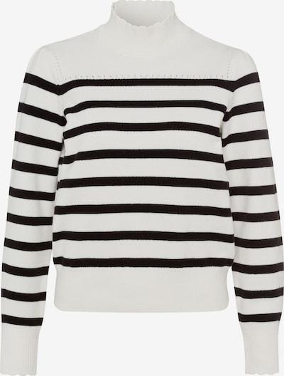 zero Sweater in Black / Wool white, Item view