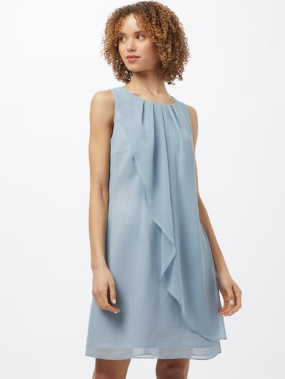 SWING Cocktail dress in Light blue: Frontal view