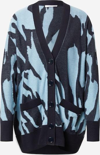 BOSS Casual Cardigan 'Famalie' en bleu marine / bleu clair, Vue avec produit