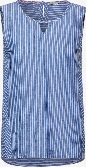 CECIL Blusentop in blau / weiß, Produktansicht