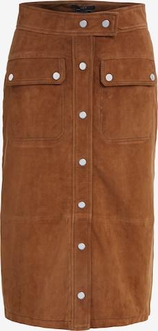 SET Skirt in Brown