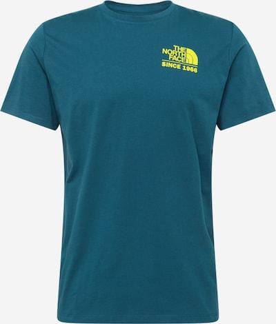 THE NORTH FACE Koszulka funkcyjna 'Foundation' w kolorze niebieski / żółtym, Podgląd produktu