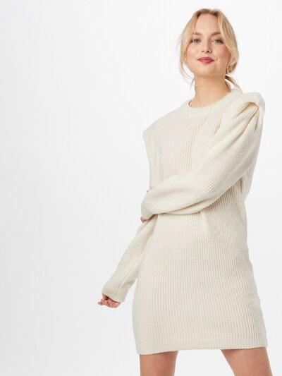 DeFacto Úpletové šaty - bílá, Model/ka