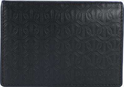 Davidoff Zino Kreditkartenetui Leder 10,5 cm in schwarz, Produktansicht
