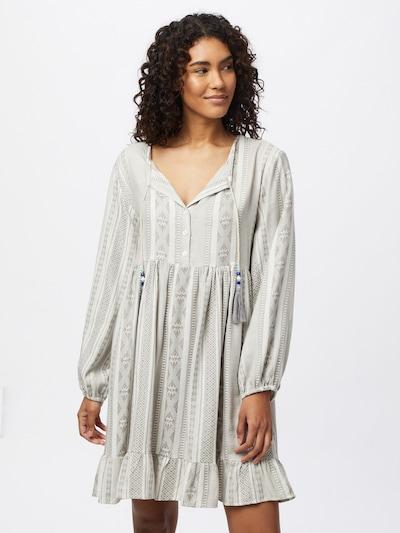 Zwillingsherz Shirt dress 'Nala' in mottled grey / White, View model
