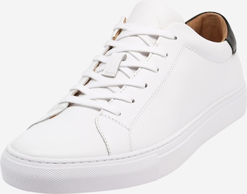 balts Polo Ralph Lauren Zemie brīvā laika apavi 'JERMAIN'
