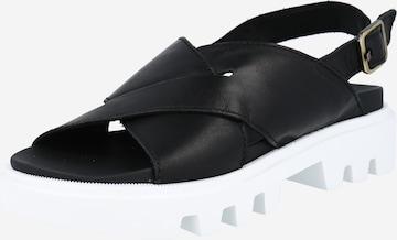 Sandale 'Piave 1A' de la Marc O'Polo pe negru
