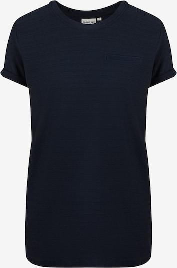 Finn Flare Langes  Basic Shirt in dunkelblau, Produktansicht