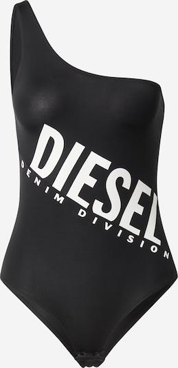 DIESEL Body 'UFBY-JANE-R UW Body UW Body' en negro / blanco, Vista del producto