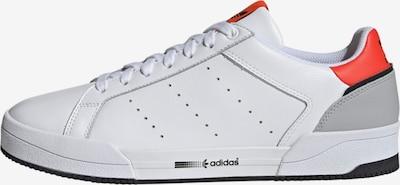 szürke / korál / fekete / fehér ADIDAS ORIGINALS Rövid szárú edzőcipők 'Court Tourino', Termék nézet